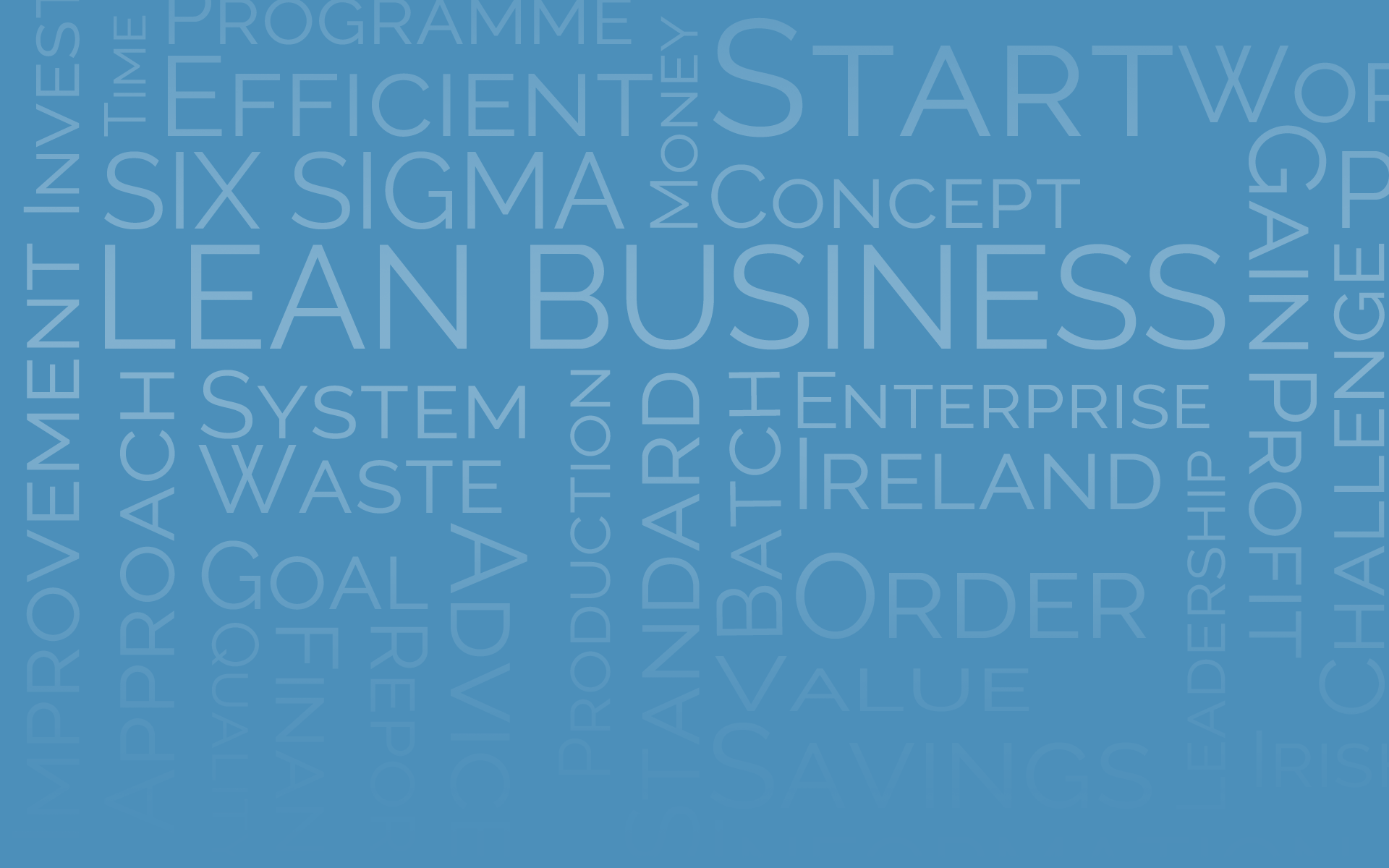 Management Works Lean Business Programme  – Delivered by LBSPartners