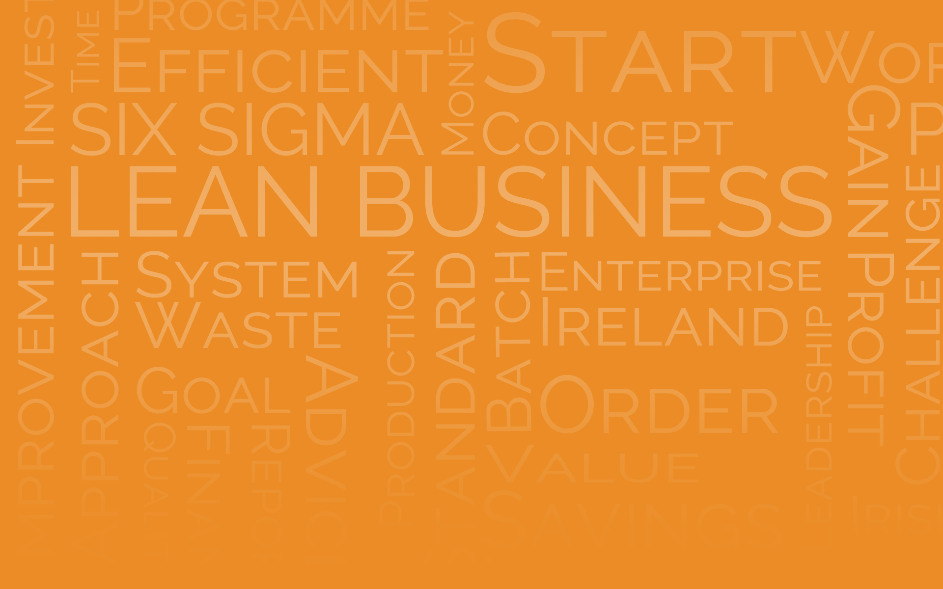 Achieve efficiencies in your business using Lean