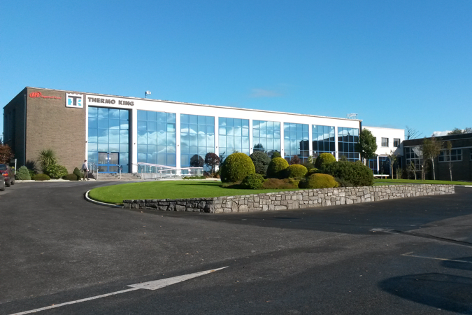 Thermo King Manufacturing Facility in Galway, with Zero Waste to Landfill