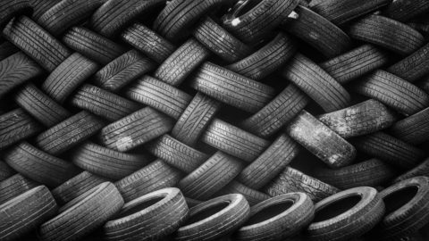 Recycled tyres to protect buildings from quakes, blasts and fires