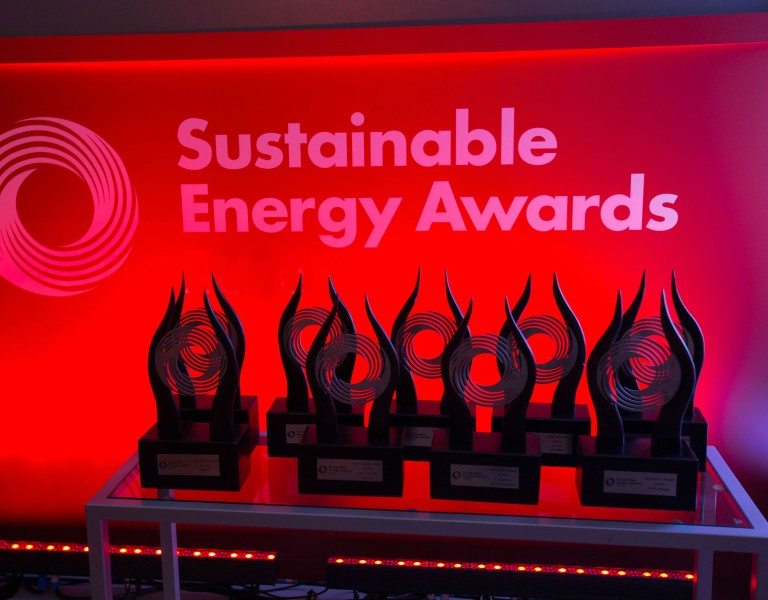 Sustainable Energy Award winners
