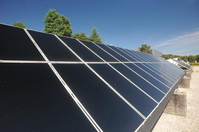 Recycling photovoltaic panels….sustainably