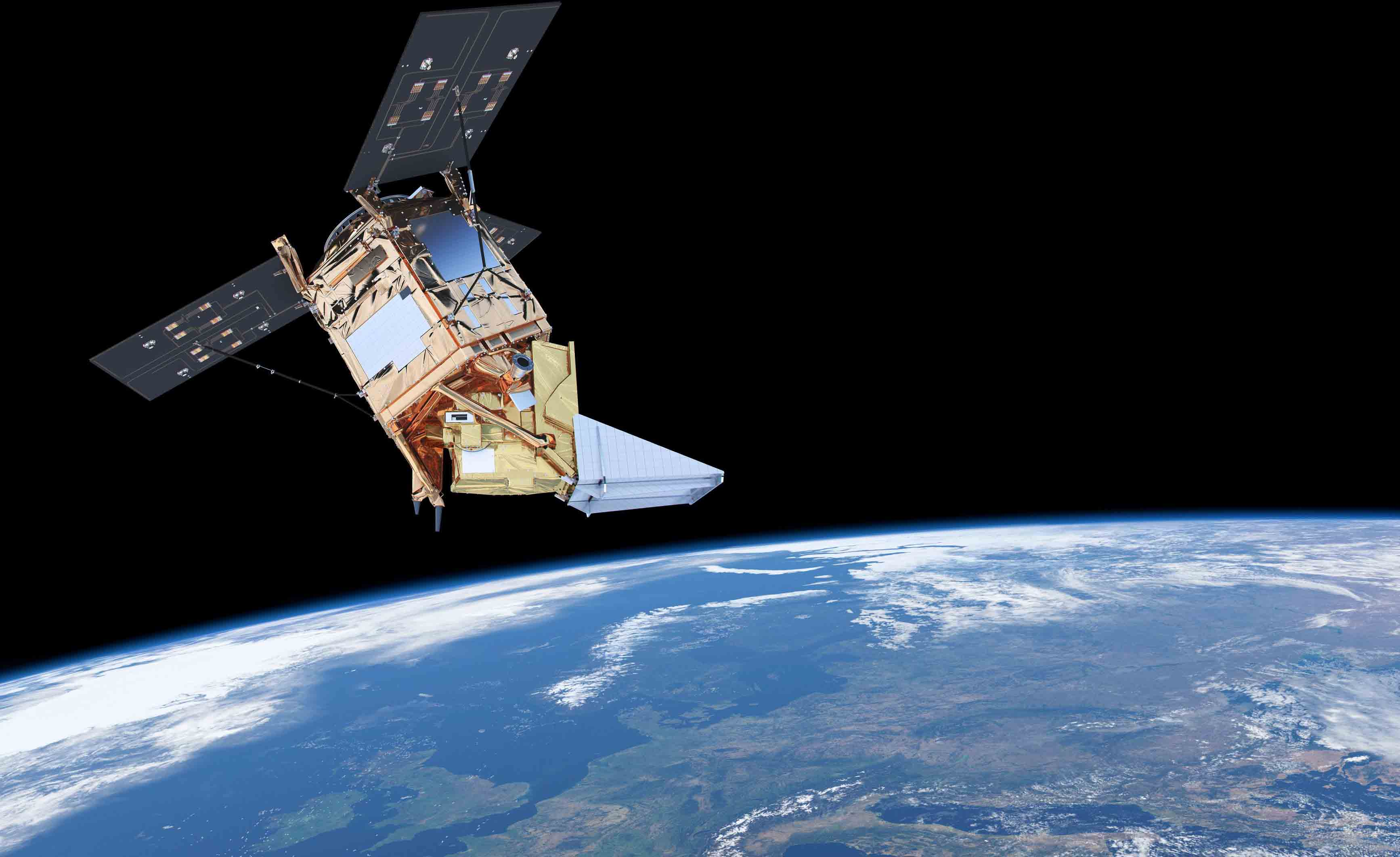 ESA – Sentinel-5P brings air pollution into focus