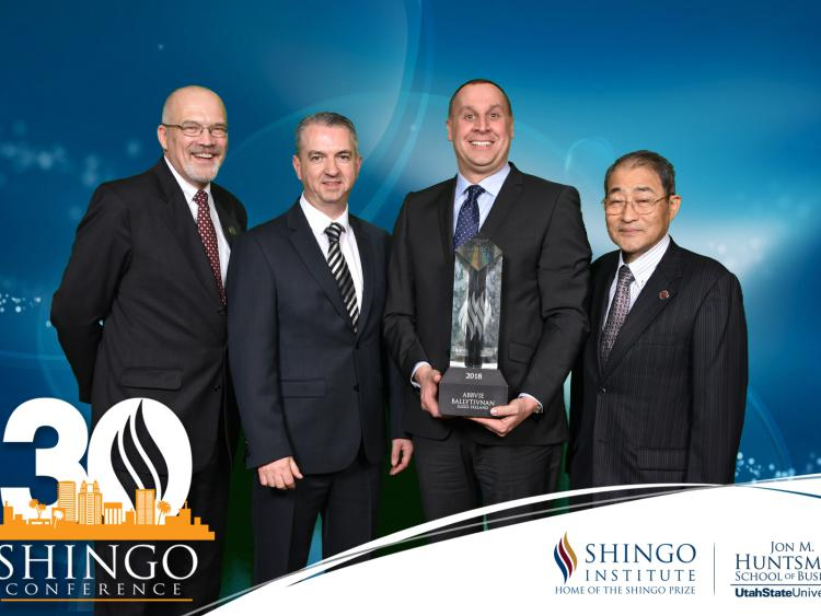 Shingo Prize Awarded to AbbVie Ballytivnan in Ireland for Operational Excellence
