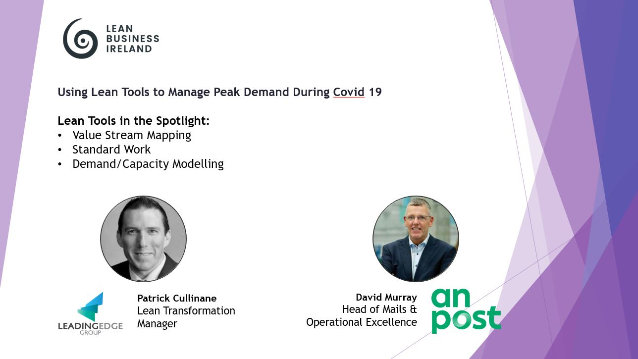 LBI – Best Practice Series – Managing Peak Demand During Covid