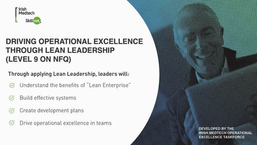 Driving Operational Excellence through Lean Leadership